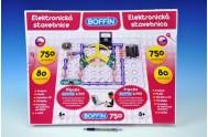 Stavebnice Boffin 750 elektronická 750 projektů na baterie 80ks v krabici