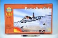 Model Suchoj SU-25 K v krabici 35x22x5cm