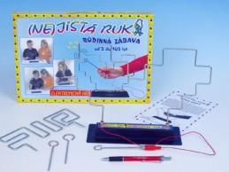 (NE)jistá ruka společenská hra na baterie v krabici 33x23x3,5cm - Rock David