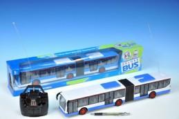 Autobus R/C plast 44cm 27MHz na baterie plná funkce v krabičce - Rock David