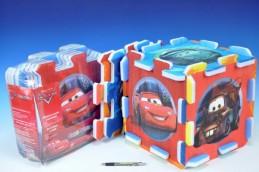 Pěnové puzzle Cars/Auta 32x32x1cm 8ks v sáčku - Rock David
