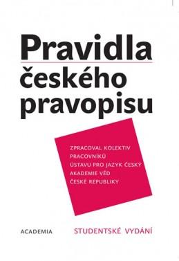 Pravidla českého pravopisu - brož. - 2. vydání