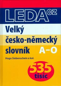 Velký česko-německý slovník (535 tisíc)