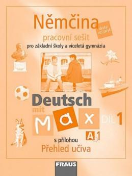 Deutsch mit Max A1/díl 1 - pracovní sešit