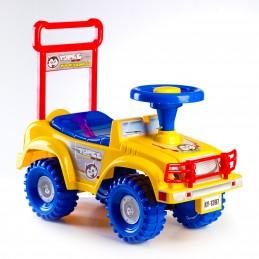 Odrážedlo auto Jeep Yupee - žluté