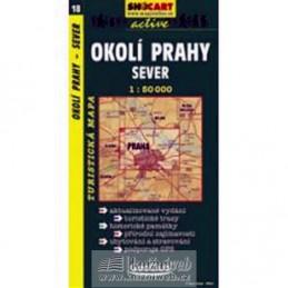 Okolí Prahy-sever 1:50T - turist .mapa