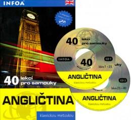 Angličtina - 40 lekcí pro samouky + 2 CD