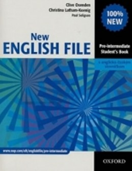 New English File Pre-Intermediate Student´s Book CZ