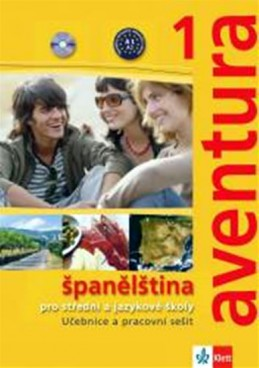 Aventura 1 - Španělština pro SŠ a JŠ - učebnice + PS + 2CD