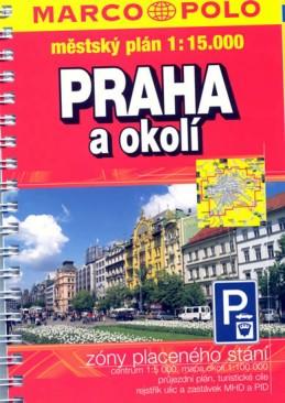 Praha a okolí 1:15T