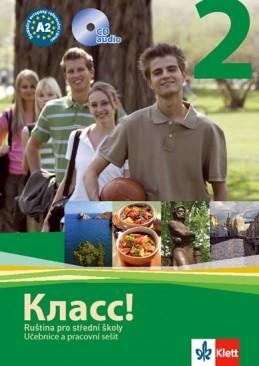 Klacc! 2 - Ruština pro SŠ - Učebnice + PS + 2CD - Orlova a kolektiv N.