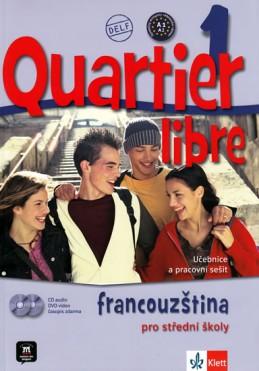 Quartier libre 1 - učebnice + CD+ DVD + časopis La revue de jeunes - Bosquet a kolektiv M.