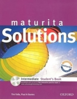 Maturita Solutions Intermediate Student´s Book with MultiROM Pack CZ - Falla Tim