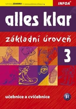 Alles klar 3ab - učebnice+cvičebnice - Luniewska a kolektiv Krystyna