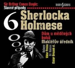 Slavné případy Sherlocka Holmese 6 - CD - Doyle Arthur Conan