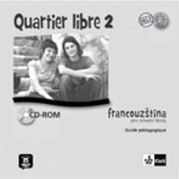 Quartier libre 2 - Metodická příručka - CD - Bosquet a kolektiv M.