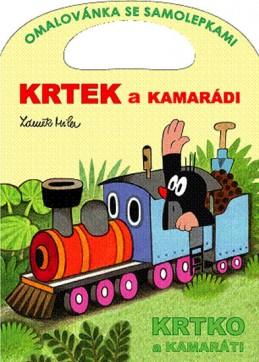 Krtek a kamarádi - Omalovánky A4 - Miler Zdeněk