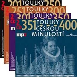 Toulky českou minulostí - komplet 201-400 - 8CD/mp3 - kolektiv autorů