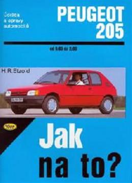 Peugeot 205 - 9/83 - 2/99 - Jak na to? - 6. - Etzold Hans-Rudiger Dr.