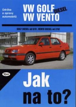 VW Golf III/VW Vento - diesel - Jak na to? - neuveden