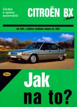 Citroën BX 16,17 a 19 - Jak na to? od 3/84 - 33. - neuveden