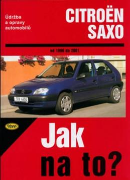 Citroën Saxo 1996-2001 - Jak na to?-78 - kolektiv autorů