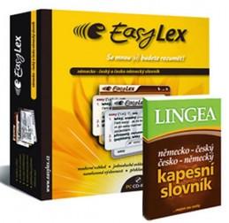 Easylex němčina + německý knižní kapesní slovník - neuveden