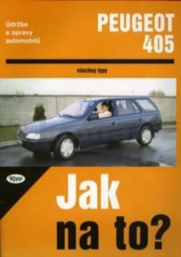 Peugeot 405 do 1993 - Jak na to? - 21. - neuveden
