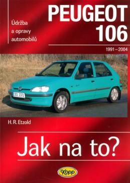 Peugeot 106 - 1991-2004 - Jak na to? - 47. - Etzold Hans-Rudiger Dr.