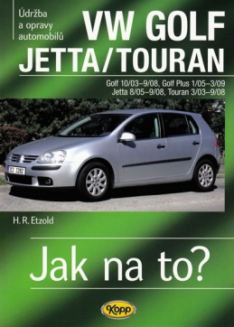 VW Golf V/Jetta/Touran - 2003-2008 - Jak na to? - 111. - Etzold Hans-Rudiger Dr.