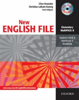 New English File Elementary Multipack B - Oxenden Clive
