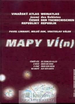 Mapy ví(n) - Vinařský atlas - Linhart, Suk, Válek