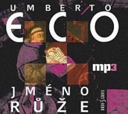 Jméno růže - CD mp3 - Eco Umberto