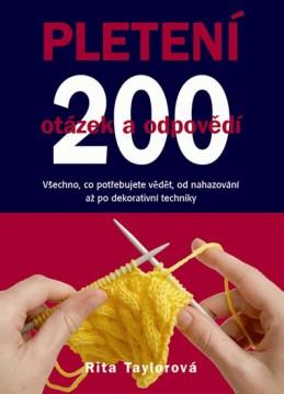 Pletení – 200 otázek a odpovědí - Taylorová Rita