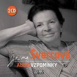 Jiřina Švorcová - Audiovzpomínky - 2 CD - Švorcová Jiřina
