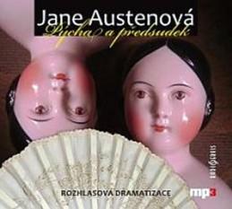 Pýcha a předsudek - CD mp3 - Austenová Jane