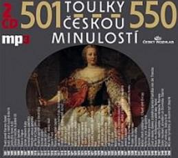 Toulky českou minulostí 501-550 - 2CD/mp3 - kolektiv autorů