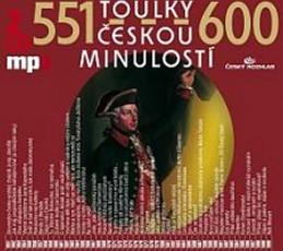 Toulky českou minulostí 551-600 - 2CD/mp3 - kolektiv autorů
