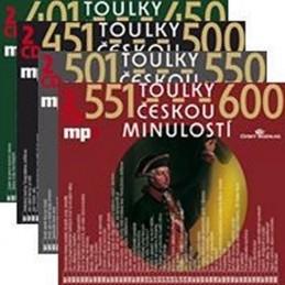 Toulky českou minulostí - komplet 401-600 - 8CD mp3 - kolektiv autorů