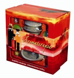Aromaterapie - dárková krabička - 3.vydání - neuveden