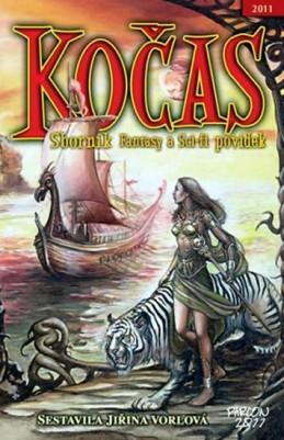 Kočas 2011 Sborník sci-fi a fantasy povídek 2011 - Vorlová Jiřina