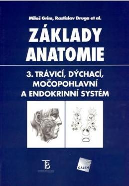 Základy anatomie 3 Trávicí,dýchací,močopohlavní a - Grim M., Druga R.