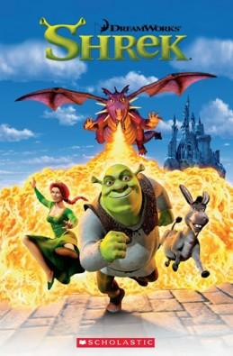 Popcorn ELT Readers 1: Shrek 1 with CD - Hughes Annie
