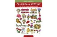 Zahrada a květiny. 200 motivů pro křížkové vyšívání