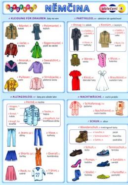 Obrázková němčina 4 - Oblečení - Kupka a kolektiv Petr