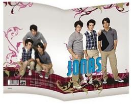 Jonas Brothers - Obal na sešit A4 - neuveden