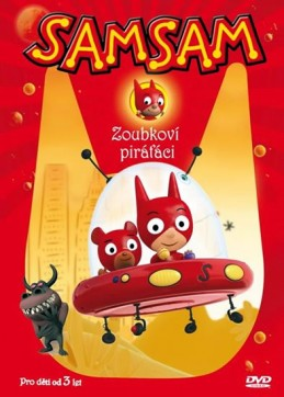 SamSam 1 - Zoubkoví piráťáci - DVD - neuveden