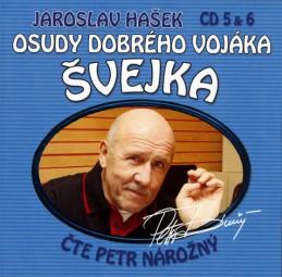 Osudy dobrého vojáka Švejka 5-6 - 2CD - Hašek Jaroslav