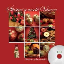 Šťastné a veselé Vánoce - CD + kniha - neuveden