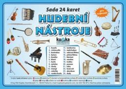 Hudební nástroje - Sada 24 karet - Kupka a kolektiv Petr
